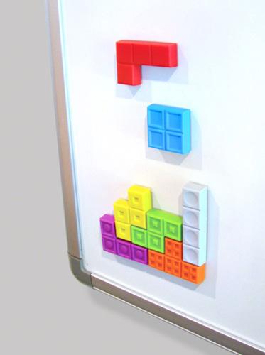 Tetrius Puzzle Game Magnets