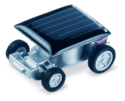 Mini Solar-Powered Car