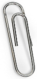 Giant Paper Clip Wall Hook